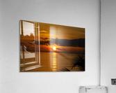 Sunrise at Cayman Kai  Acrylic Print