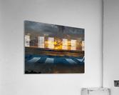 Eleuthera Sunrise splashdown  Acrylic Print