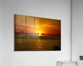 Sun rising on the Caribbean  Acrylic Print