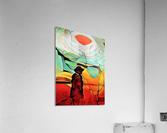 Sun Rings  Acrylic Print