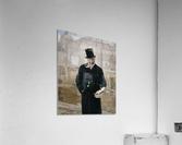 Portrait d Adolphe Alphand  Acrylic Print