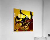 Sunrise_Crossword  Acrylic Print