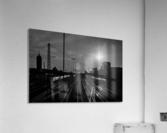 German Rails  Acrylic Print