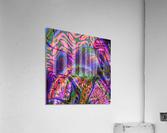Acid_Jungle_Trip_9  Acrylic Print