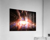 Angry galaxy e  Acrylic Print