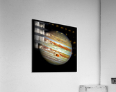Jupiter with Ganymede Outer Space Image  Acrylic Print