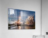 Falcon Heavy Demo Mission 020118  Acrylic Print