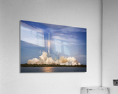 Falcon 9 Lifts Off from Space Launch Complex 40  Acrylic Print