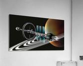 Starship Radial Alliance  Acrylic Print