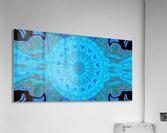 Blue Wildflower in Light  Acrylic Print