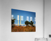 Indian River Bridge Stanchions Standing Tall  Acrylic Print