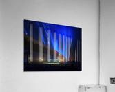 Foggy Night at the Indian River Bridge  Acrylic Print