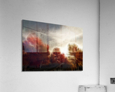Impressionist Autumn Scene  Acrylic Print