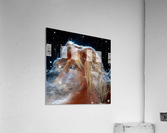 Horsehead Nebula with Horse Head in Space  Acrylic Print