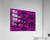Purple Desert Song 37  Acrylic Print