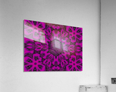 Purple Desert Song 38  Acrylic Print