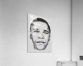 Leader's face  Acrylic Print