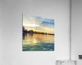 Washington Channel Sunset  Acrylic Print