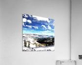 Brighton Resort Back Country  Acrylic Print