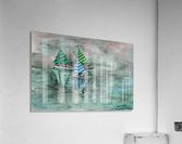 Naini lake_DKS  Impression acrylique