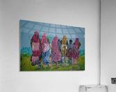 Village Women_DKS  Impression acrylique