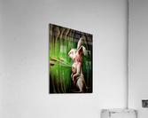 White Rabbit  Impression acrylique