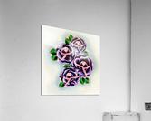 Roses  Impression acrylique
