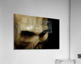 Skeleton Head  Acrylic Print