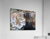 The Lion and the Panther  Acrylic Print