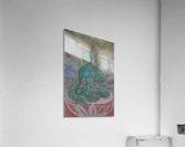 Green Buddha Tara  Acrylic Print