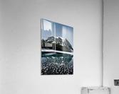 Lake Louise Reflection  Impression acrylique