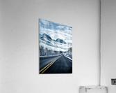Icy Roads  Acrylic Print