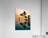 Relaxation Sunset  Acrylic Print