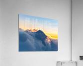Alpine Glow  Acrylic Print