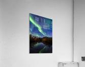 Northern Lights Reflection  Acrylic Print