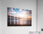 VA Beach Sunrise  Acrylic Print