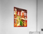 Wanchai Night  Acrylic Print