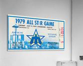 1979 Major League All-Star Game Seattle  Acrylic Print