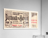 1908 Dartmouth vs. Harvard  Acrylic Print