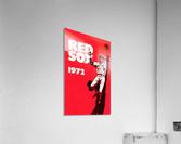 1972_Major League Baseball_Boston Red Sox_Fenway Park_Row One Brand  Acrylic Print
