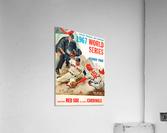 1967 World Series Program Cover Art Fenway Park  Acrylic Print