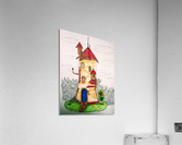 Wizard Tower  Acrylic Print
