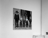 young workers around 1908  Acrylic Print