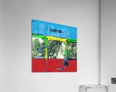 Emergency Door School Bus  Acrylic Print