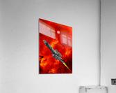 Journey to explore Mars  Acrylic Print