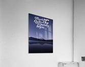 Mountain Top Journey  Acrylic Print
