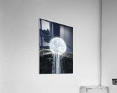 Moon Waterfall Fantasy  Acrylic Print