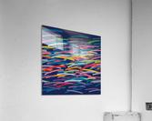 REAL1 Dark blue Background  Acrylic Print