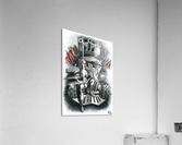 Girl_Revolution  Acrylic Print