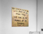 Secret Place  Acrylic Print
